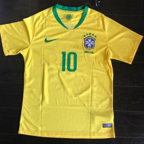 eea29738b NEYMAR Soccer Jersey BRAZIL  10 World Cup 2018. NWT. Nike